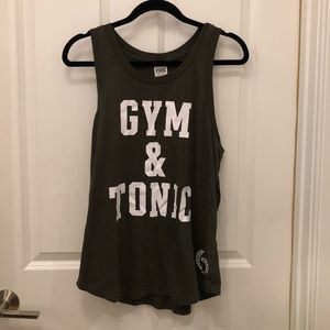 Victoria's Secret PINK Gin & Tonic Tank Top